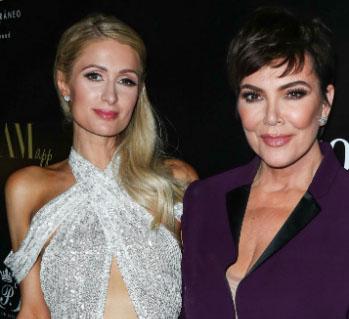 Paris Hilton lobt 'Tante' Kris Jenner