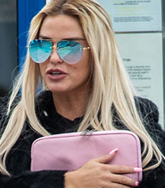 Katie Price Leaves Horsham Magistrate's Court After Pleading Guilty To Charges