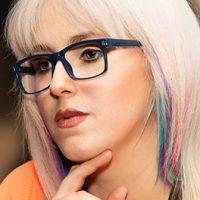 Brillendesign: Sanford, Model: Stefanie Jank
